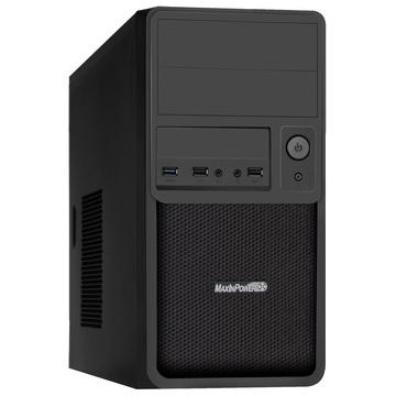 BOITIER PC MICRO-ATX MAX-IN-POWER 1080 - Alimentation 480 Watts Incluse - 1 USB 3.0 et 2 USB 2.0 en Façade
