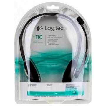 CASQUE LOGITECH H110 Stéréo - Microphone Rotatif