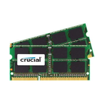 MEMOIRE SO-DIMM DDR3L 8GO 1600Mhz Crucial