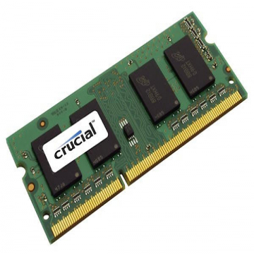 MEMOIRE SO-DIMM DDR2 2 Go 667Mhz Crucial Certifié MAC