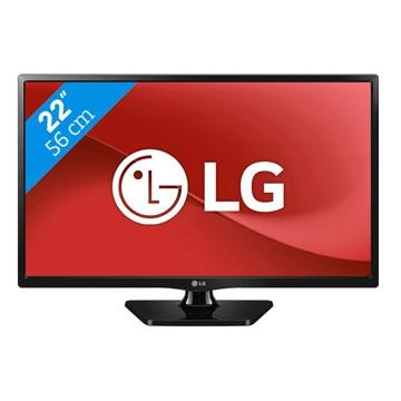 TELEVISEUR 22 POUCES Lg - 22MT47DC • Ecran LCD • LED • Wide • 1920x1080 • 250 cd/m² • 1000:1 • HP • HDMI • TNT HD MPEG4