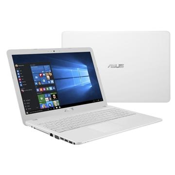 PORTABLE Asus 15.6 Pouces - BLANC - Pentium N3700 1T 4G 15.6IN DVDR Win 10 Home 64Inclus Sacoche & souris Garantie 2 ans