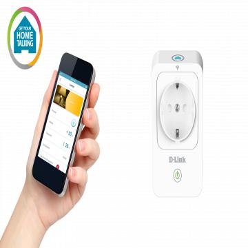 PRISE INTELLIGENTE  Dlink Wi-Fi- WPS (Wi-Fi protected Setup) - Allumer/Eteindre les équipements connectés via l'APP mobile - Créer des plages horaires d'activation/désactivation - Prévenir les surchauffe - Pilo