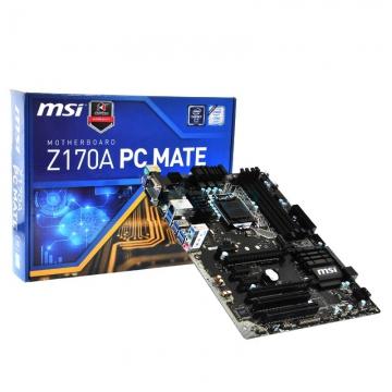 CM1151 Msi Z170A PC MATE* Z170/LGA1151/4DIMM DDR4 OC/ATX