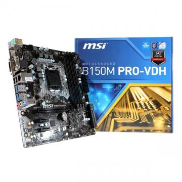 CM1151 Msi B150M PRO-VDH* B150/LGA1151/4DDR4/USB3.1/M-ATX