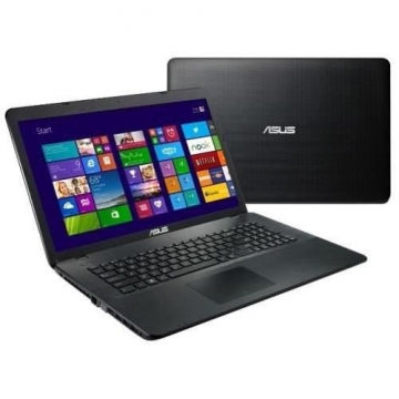 PORTABLE Asus 17.3 Pouces - Noir -  HD+, Intel Core i7-7500U, 8Go DDR4, HDD 1To, GT940MX 2G, DVD/RW Super multi DL, Batteries 2 cells, Webcam VGA, Lecteur SD, Clavier Chiclet + Pavé Numérique, 1*HDMI, 2*USB3.0, 1* VGA, Windows 10, Garantie 2