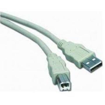 CABLE USB 2.0 - AB - Mâle/Mâle - 1.80 m - Noir