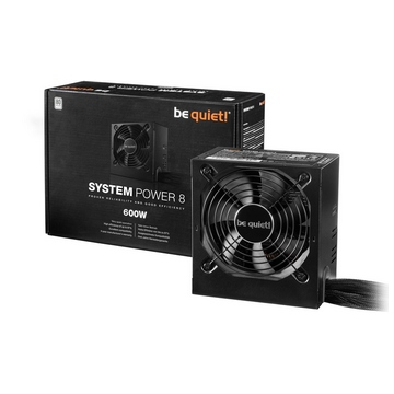 ALIMENTATION Be Quiet  SYSTEM POWER 8 600W
