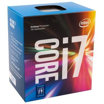INTEL Processeur S1151 - I7 7700 BOX KABY LAKE - 4 Coeurs à 3.60 GHz à 4.2 GHz avec 8 Mo de cache - 65 Watts
