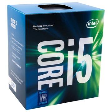 INTEL Processeur S1151 - I5 7600 BOX KABY LAKE - 4 Coeurs à 3.50 GHz à 4.1 GHz avec 6 Mo de cache - 65 Watts