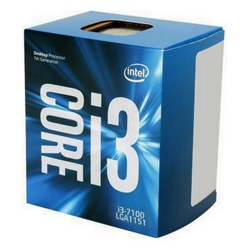 INTEL Processeur S1151 - I3 7100 BOX KABY LAKE - 2 Coeurs à 3.90 GHz avec 3 Mo de cache - 51 Watts