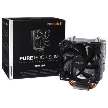 VENTILATEUR Processeur Be Quiet Pure Rock Slim