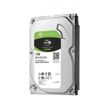 "HDD 1 To 3.5"" SATA - Seagate - BARRACUDA  - Vitesse de Rotation 7200 Rpm - Cache Mémoire 64 Mo"