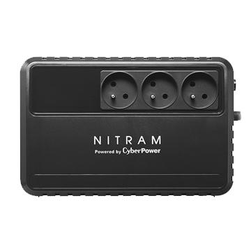 ONDULEUR NITRAM BU 600E-FR - Garantie 2 Ans