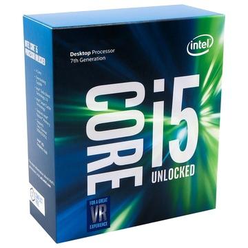 INTEL Processeur S1151 - I5 7600K KABY LAKE - 4 Coeurs à 3.80 GHz à 4.20 GHz avec 6 Mo de cache - 91 Watts