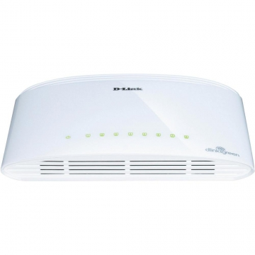 SWITCH D-LINK  8 PORTS 10/100/1000 GIGAEXPRESS PLASTIQUE