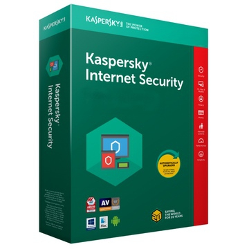 KASPERSKY INTERNET SECURITY 2018 - 1 An / 5 Postes