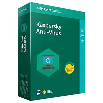 KASPERSKY ANTIVIRUS 2018 - 1 an / 3 Postes