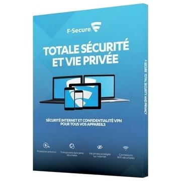 F-SECURE Sécurité Internet et VPN 1 an