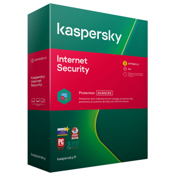 KASPERSKY Internet Security 2020 Boite (3 p/1 an) MAC/PC