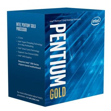 INTEL PENTIUM Gold G6400 BOX 2x4 58W GEN10 CPU S1200