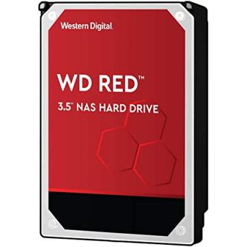 "HDD 2 To 3.5"" SATA - Western Digital - RED - Vitesse de Rotation 5400 Rpm - Cache Mémoire 256 Mo"
