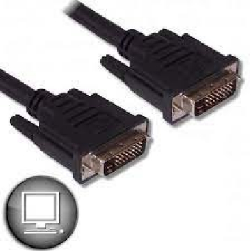 CABLE DVI-D / DVI-D 1.80M - 6FT - 24 +1 MALE / MALE