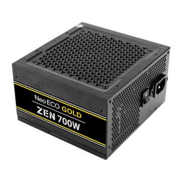ALIMENTATION Antec  700 Watt - NE700G - 80 PLUS Gold  - PFC active - Europe - Neo Eco NE700G Zen  - ATX12V 2.4 - - CA 100-240 V -