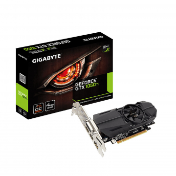 CV Gigabyte GeForce GTX 1050 Ti OC Low Profile 4G