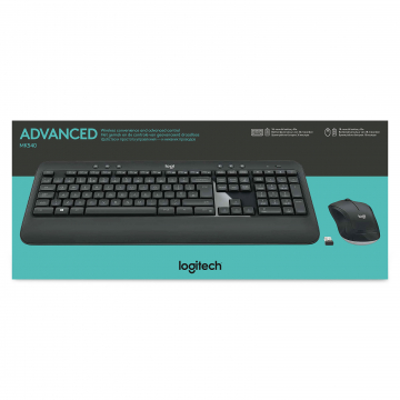 PACK CLAVIER+SOURIS LOGITECH MK540 Wireless - Noir