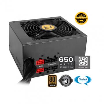ALIMENTATION Antec 650 Watts NE650M ATX12V 2.4 80 PLUS Bronze semi-modulaire  NE650M