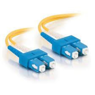 Jarretière Optique Duplex 9/125 OS2 LSCH SC / SC - 10 m