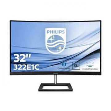 """MONITEUR 32"""" Curve Philips VVA/16:9/ 1920x1080/250cd/m²/ 4ms/ 3000:1-VGA/HDMI/DP-Incl / Garantie 2 ans sur site"""