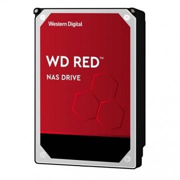 "HDD 4 To 3.5"" SATA - Western Digital - RED - Vitesse de Rotation 5400 Rpm - Cache Mémoire 64 Mo"