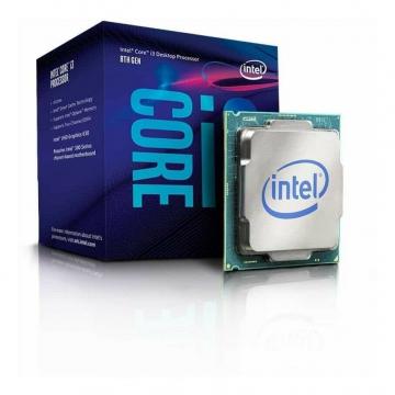 INTEL Processeur S1151 - I3 8100 BOX COFFEE LAKE - 4 Coeurs à 3.60 GHz avec 6 Mo de cache - 65 Watts