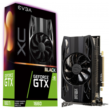 CV EVGA GeForce GTX 1660 XC BLACK GAMING
