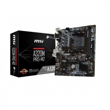 CM AM4 RYZEN MSI A320M PRO-M2 DDR4 M-ATX
