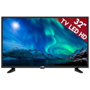 TV 32 Pouces Altec Lansing RUSH 32 - 16:9, 1366x768: 180cd/m2, 3000:1, 3xHDMI, 1xpéritel, 1xVGA, 1xUSB- HP2X6W -Tuner DVB-TNT, Mode Hotel