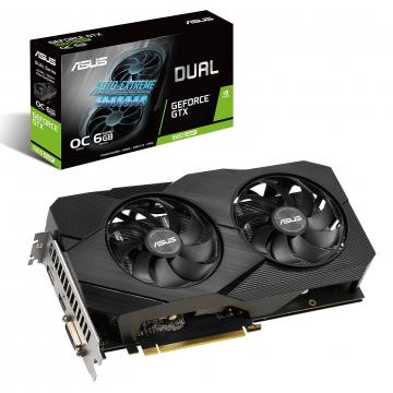 CV ASUS Dual GeForce® GTX 1660 SUPER™ OC Edition – Mémoire GDDR6 de 6 Go