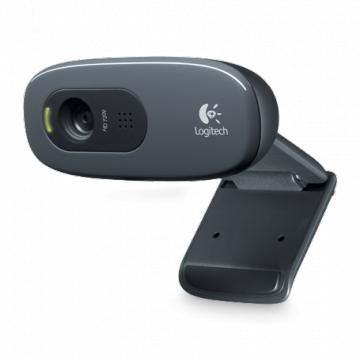 WEBCAM LOGITECH C270 - HD 720P 3MPS - Micro Intégré