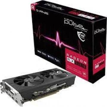 CV SAPHIRE RADEON RX 580 8GB GDDR5 PULSE PCI-E 2XHDMI DVI-D 2XDP OC W-BP