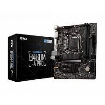 CM S1200 MSI B460M-A PRO LGA 1200 micro ATX Intel B460