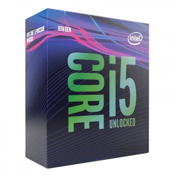 INTEL Processeur S1151 - I5 9600K BOX COFFEE LAKE R - 6 Coeurs (et 6 Threads) de 3.70 GHz à 4.60 GHz avec 9 Mo de cache - 95 Watts