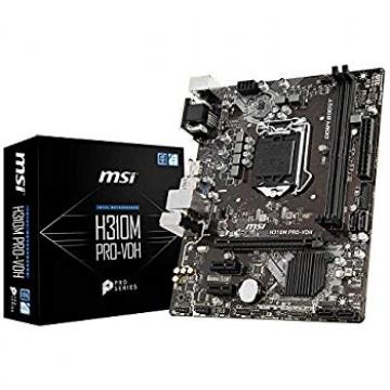 CM1151 Msi  H310M PRO-VDH plus 1151 2 x USB 2.0 / 2 x USB 3.1 /1