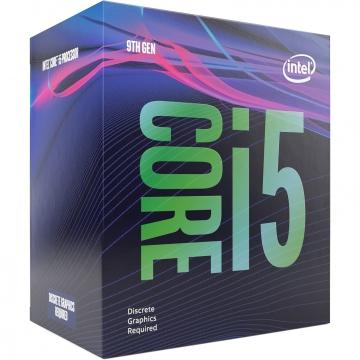INTELProcesseur S1151 i5-9400F Hexa-core (6 Core) 2,90 GHz - Vente au détail Pack - 9 Mo Cache - 4,10 GHz without graphic