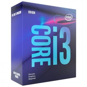 INTEL Processeur I3 9100F Quad-core (4 cœurs) 3,60 GHz - Vente au détail Pack - 6 Mo Cache - 4,20 GHz S1151 without graphic
