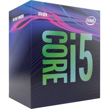 INTEL Processeur S1151 i5-9400 Hexa-core (6 Core) 2,90 GHz - Vente au détail Pack - 9 Mo Cache - 4,10 GHz