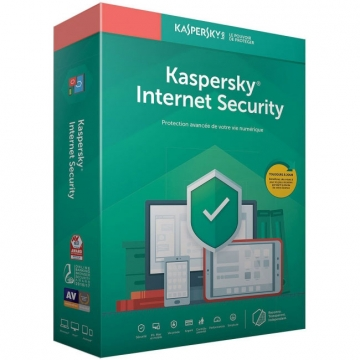 KASPERSKY Internet Security 2020 Boite (1 p/1 an) MAC/PC