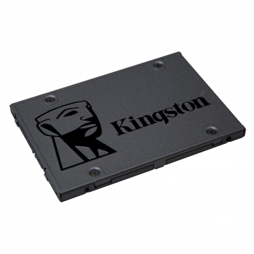 SSD 480GB KINGSTON SSDNow A400 SATA3 6Gb/s 2.5inch 7mm height / up to 500MB/s Read and 350MB/s Write - Black