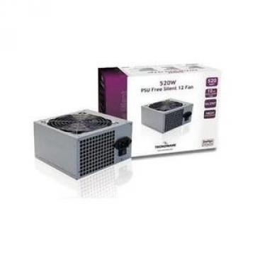 ALIMENTATION TECNOWARE 500 Watts - FREE SILENT - 2 SATA - 2 Molex- 1 CONNECTOR WITH 20+4 POLES 12 CM *** Bulk *** Garantie 2 Ans